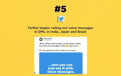 Twitter begins rolling out voice messages in DMs: The Connected Church News