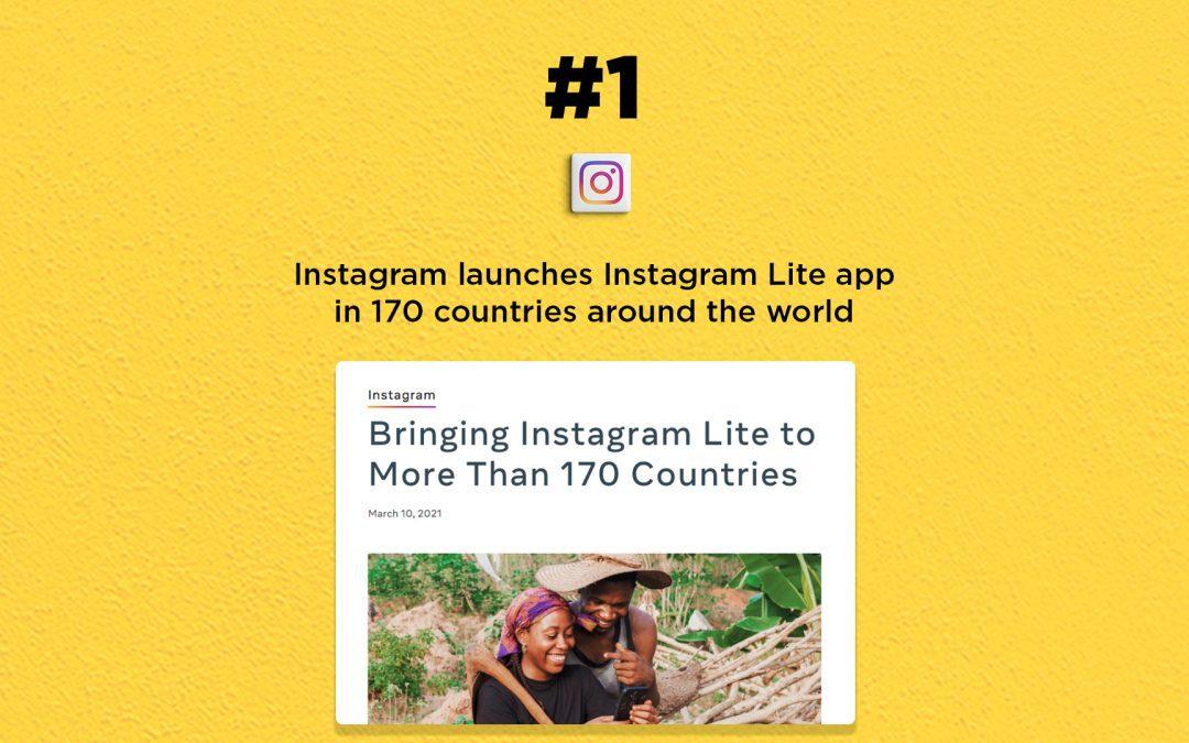 Instagram brings Instagram Lite in 170 regions: The Connected Church News