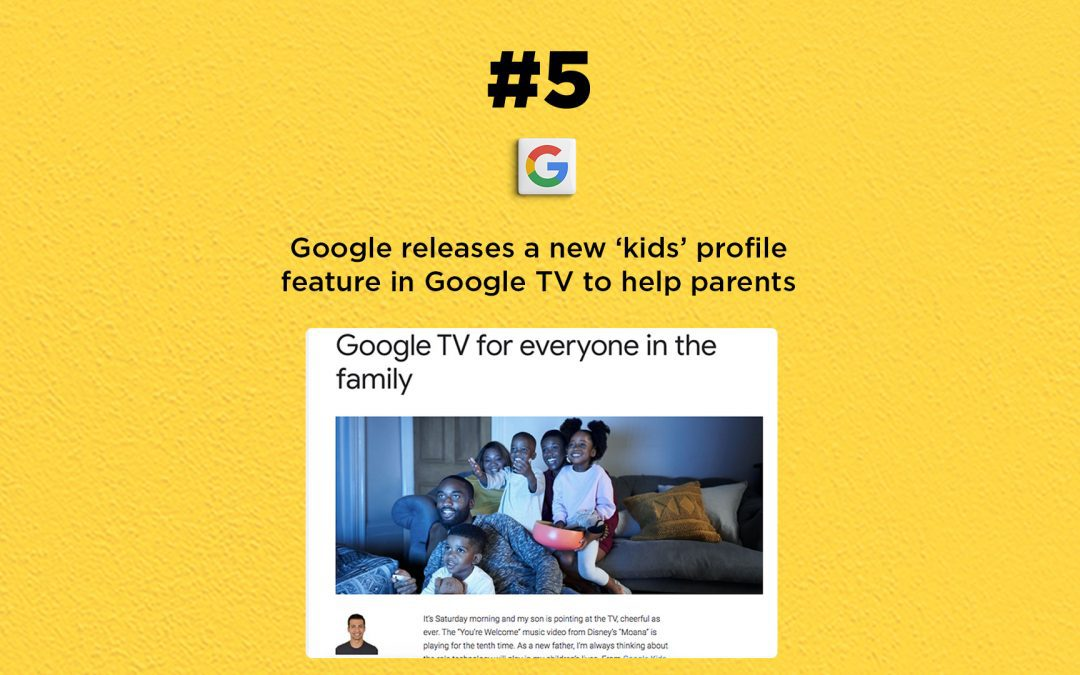 Google TV now has a new kids profile option: The Connected Church News