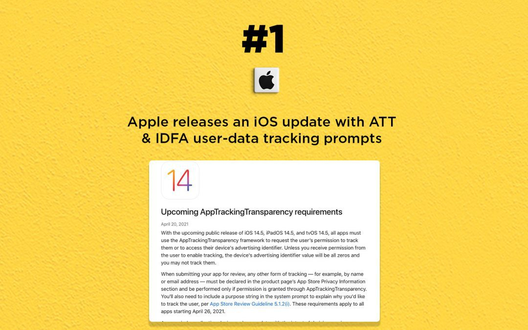 Apple's new iOS update includes user-data tracking prompts: The Connected Church News