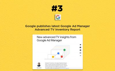 Google publishes latest TV Inventory Report: The Connected Church News