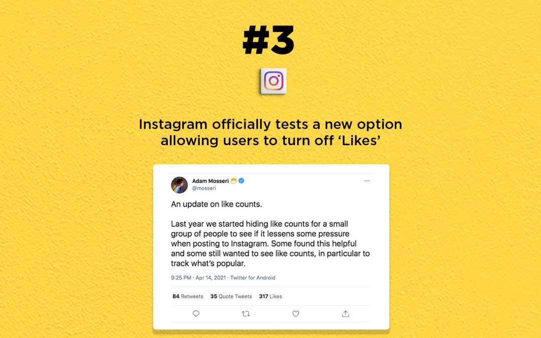 Instagram tests option allowing users to turn off 'Likes': The Connected Church News