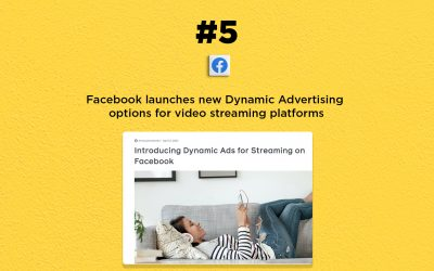 Facebook launches new Dynamic Ads for streaming: The Connected Church News