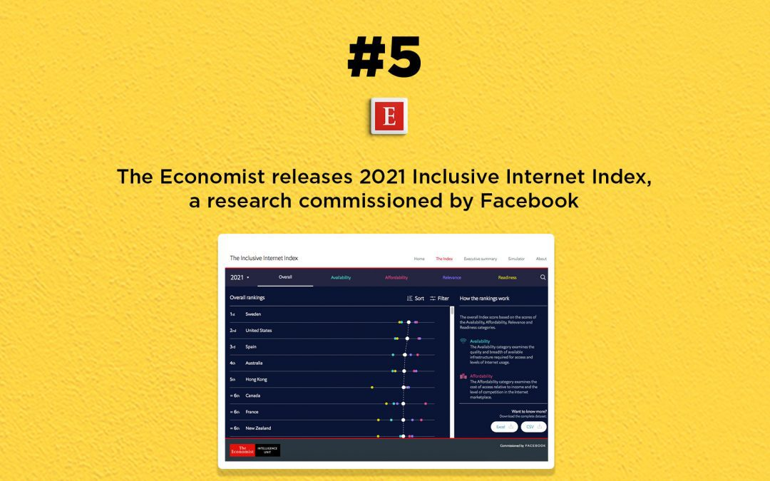 The Economist releases 2021 Inclusive Internet Index: The Connected Church News