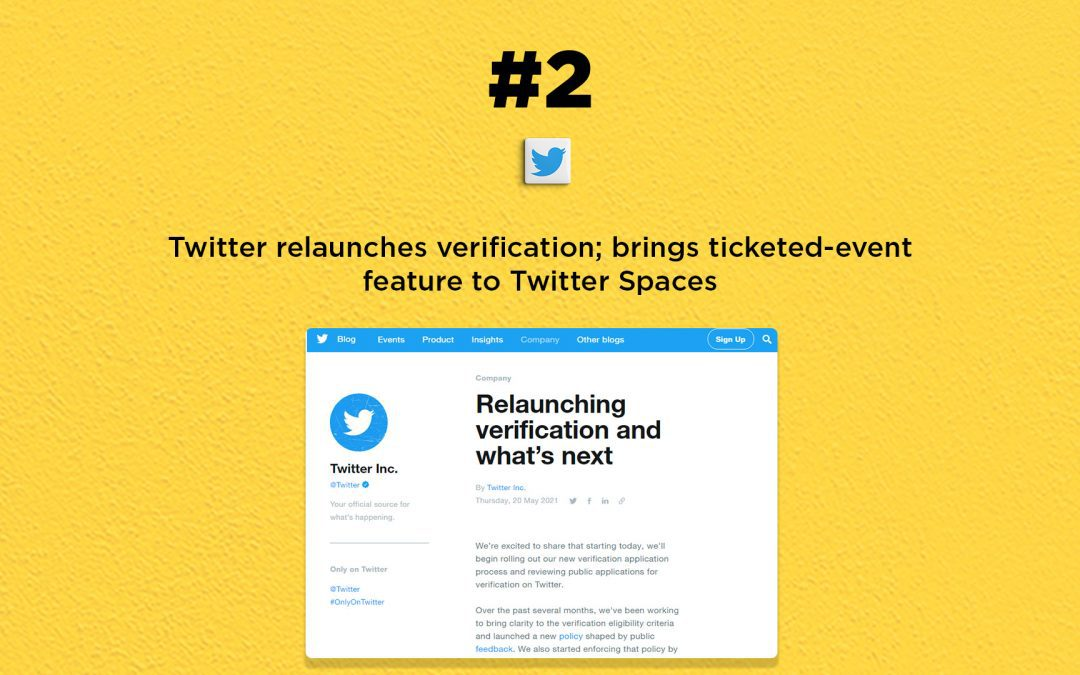 Twitter Spaces gets ticketed-events feature: The Connected Church News