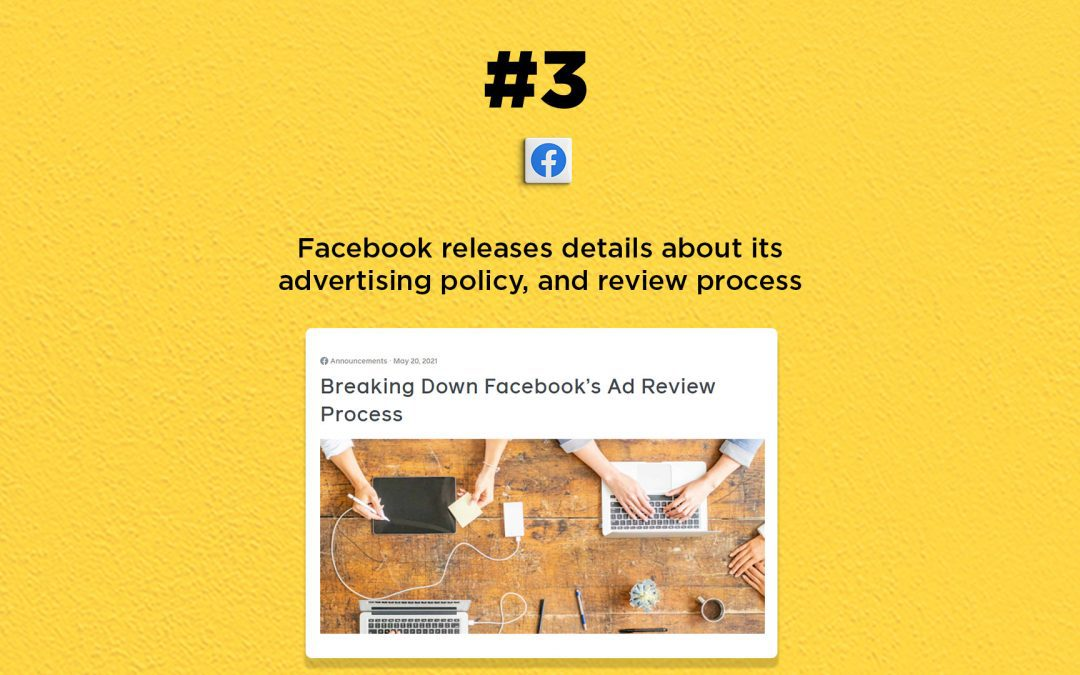 Facebook releases details about ads review process: The Connected Church News