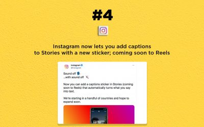 Instagram now lets you add captions to Stories: The Connected Church News