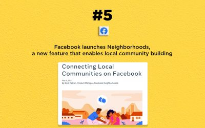 Facebook launches a local community tool, Neighborhoods: The Connected Church News