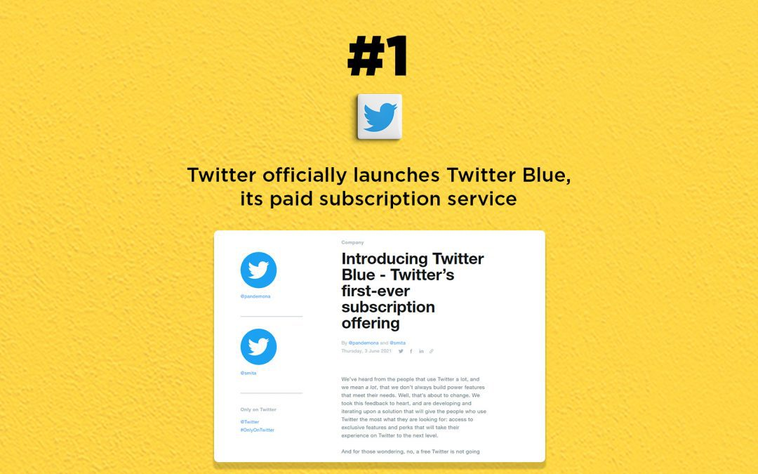Twitter officially launches Twitter Blue, its paid subscription service