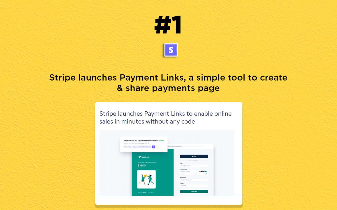 Stripe launches a simple tool for online payments: The Connected Church News