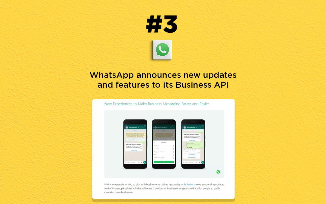 WhatsApp announces new updates and features to its Business API