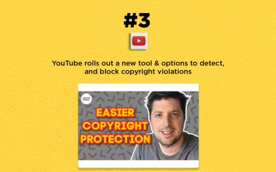 YouTube rolls out a new tool for copyright protection: The Connected Church News