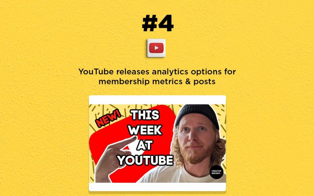 YouTube releases tools & options for video analytics: The Connected Church News
