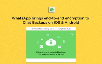 WhatsApp adds end-to-end encryption to Chat Backups on iOS & Android